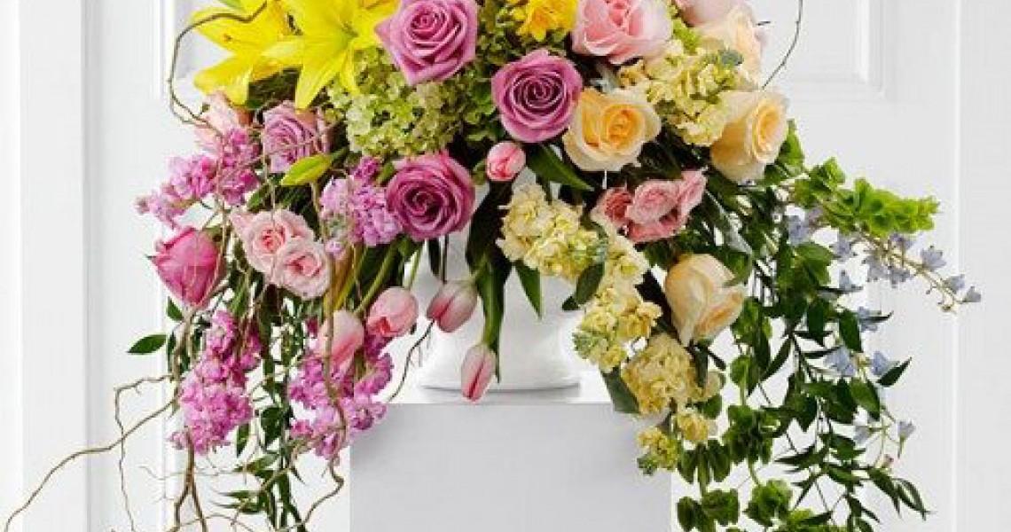 گل رومیزی مجالس عروسی