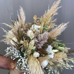 دسته گل عروس فرمالیته کد 10110