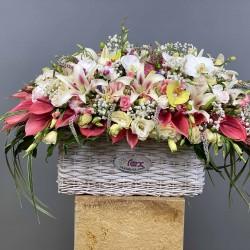 باکس گل خواستگاری کد 10113