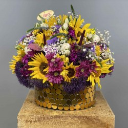 باکس گل آفتابگردان 10125