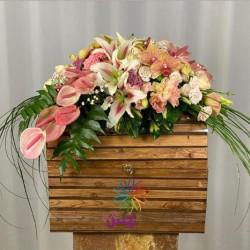 باکس گل خواستگاری کد 10132