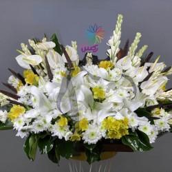 سبد گل رو میزی کد 10201
