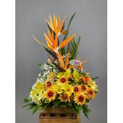 باکس گل  استرلزیا و الستر کد 10226