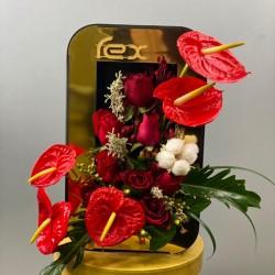 باکس گل ویترینی کد 10238